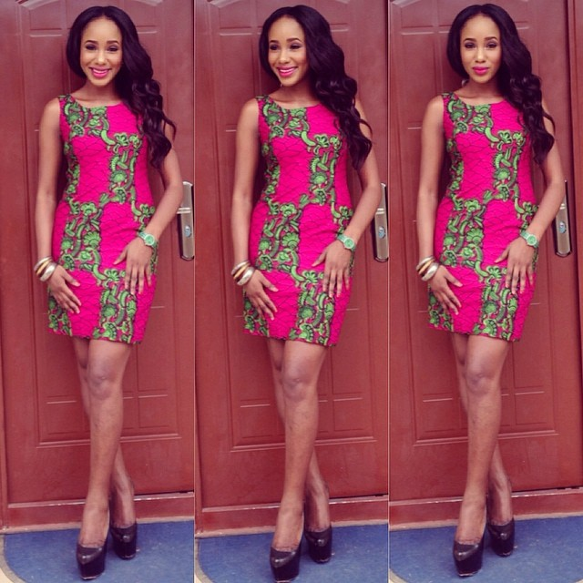 Ankara Mini Gown Styles (1)