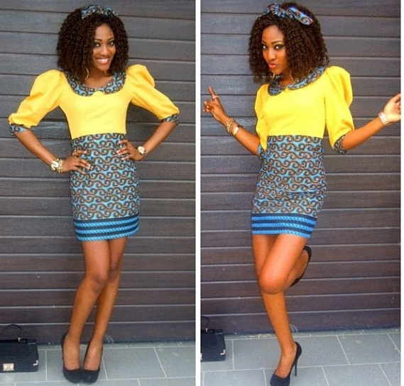 Ankara Mini Gown Styles (3)