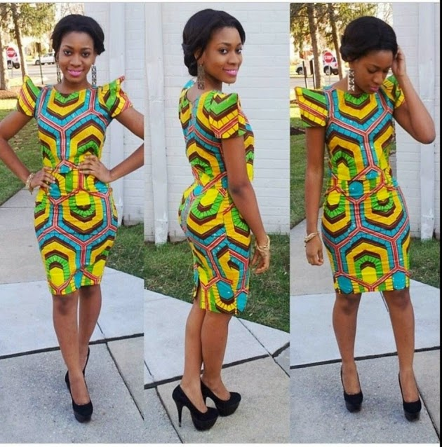 Ankara Mini Gown Styles (4)