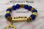 Customized bracelets, bags, necklace and waist beads