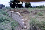 Fenced Half Plot of Land at Ashaley Botwe - ZoomLion - Accra