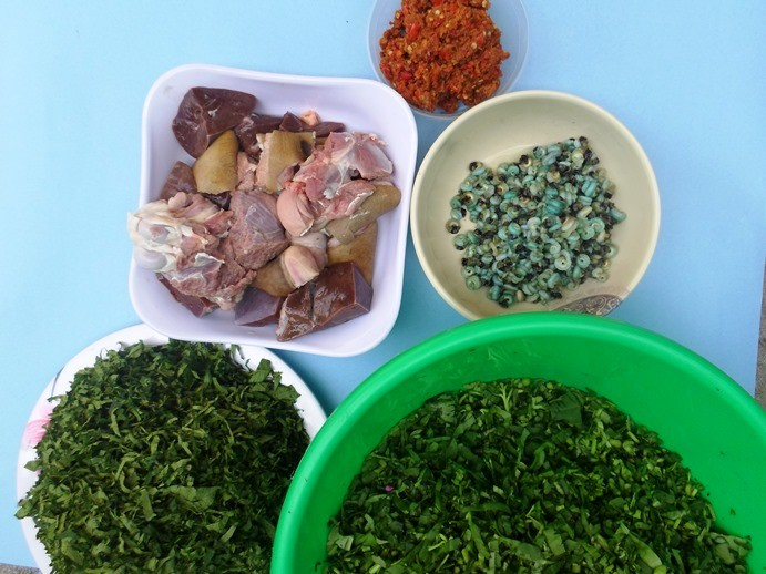 Edikaikong Ingredients