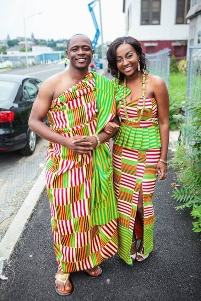 Latest styles for couples using African Ankara (MORE PHOTOS)