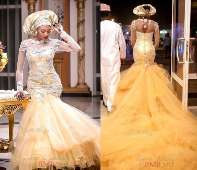421+ Best Photos of wedding gowns in Nigeria in 2017