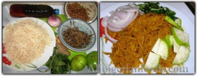 Nigerian Food: How to make African Salad: Abacha (DETAILS)