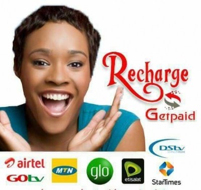 How to earn money online through airtime recharge and get paid