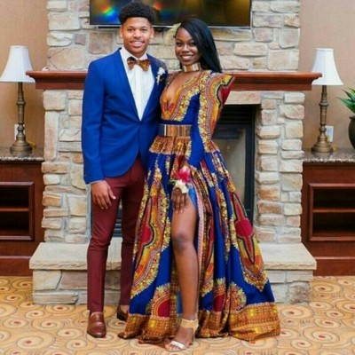 Couple styling on African Ankara (PHOTOS)