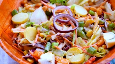 VEGETABLE SALAD: (HOW TO MAKE IT)