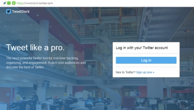 how to schedule tweets on TweetDeck: step by step with photos